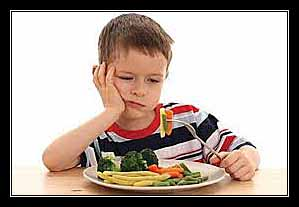 chán ăn ở trẻ