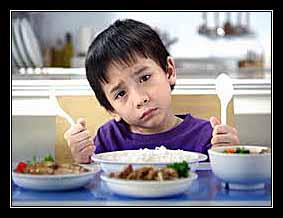 ngán ăn ở trẻ