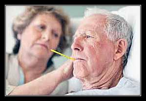 sốt người già