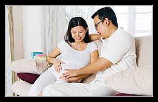thai nghén bình thường