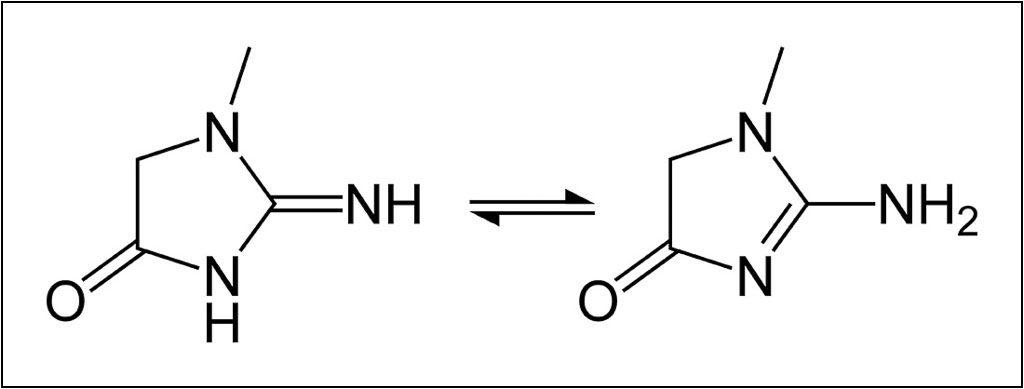 cấu tạo creatinin